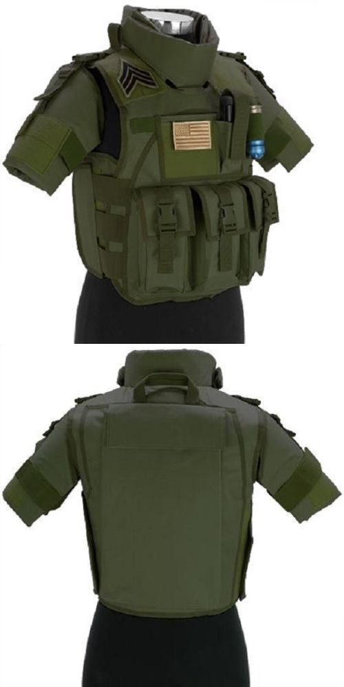 Clothing and Protective Gear 159044: Awesome Arms S.D.E.U. Light Weight Airsoft Paintball Tactical Vest Od Green -> BUY IT NOW ONLY: $89.99 on eBay!