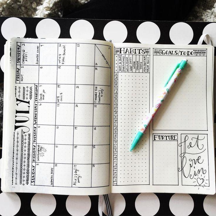 So richten Sie Ihr Bullet-Journal in 6 einfachen Schritten ein