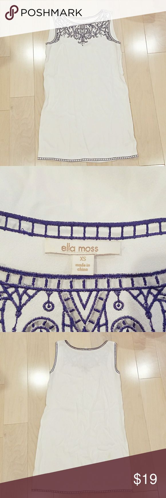 Ella Moss dress Some stains on back otherwise good  condition Ella Moss Dresses