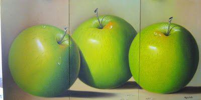 Cuadros Modernos: Cuadros de bodegones de frutas grandes