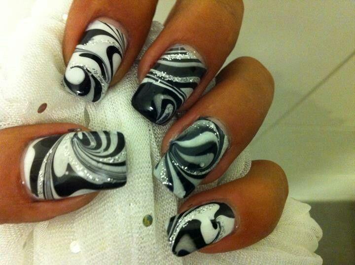 Mejores 32 imágenes de Uñas en Pinterest | Decoración de uñas ...