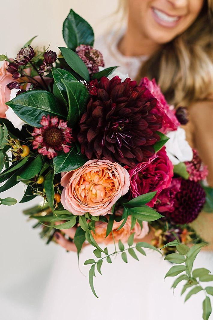 Stunning wedding bouquet   Plum & Oak Photo