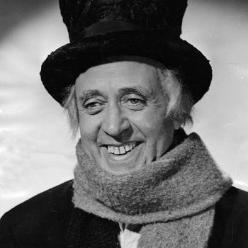 A Christmas Carol ~ Alastair Sim...you wonderful man.  Made me fall in love with this movie classic.