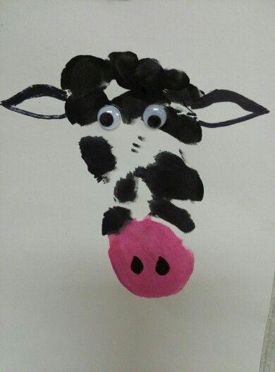 Cow foot print