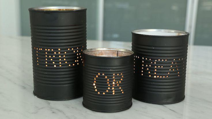 DIY Halloween Candles!