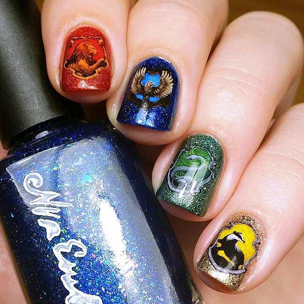 Волшебный дизайн ногтей: 15 вариаций на тему Гарри Поттера