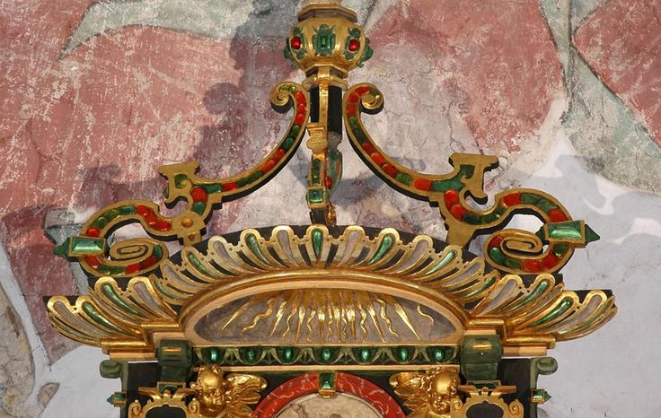 Людвиг Мюнстерманн. Алтарь из города Фарель, Нижняя Саксония - Орнамент и стиль в ДПИ