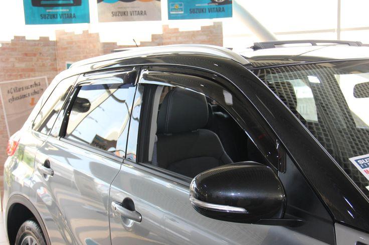 Suzuki Vitara 2015 Side Window Deflectors, Eugene's Store Auto Accessories