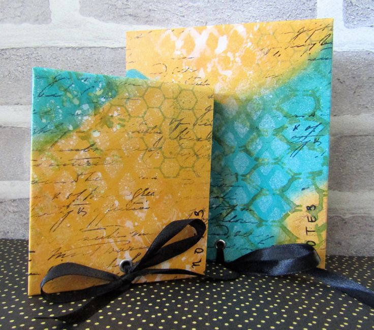 handmade and decorated notebooks by Gemma Hynes #notebooks #handmade #mixedmedia #Dylusions
