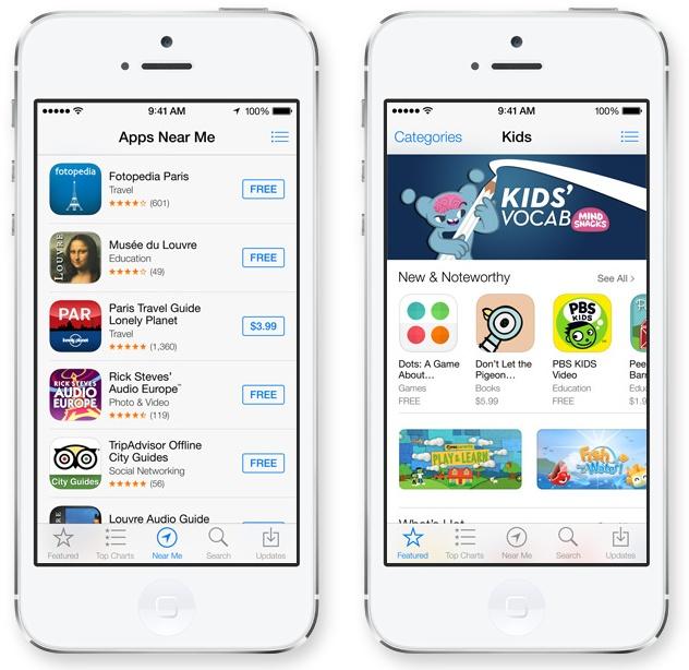 iOS 7 - AppStore
