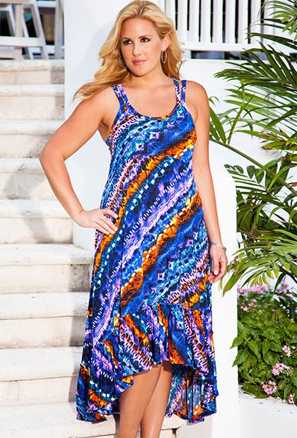 Beach Dress Plus Size