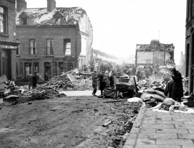 belfast during world war 2 essay What the royal family did during the second world war.