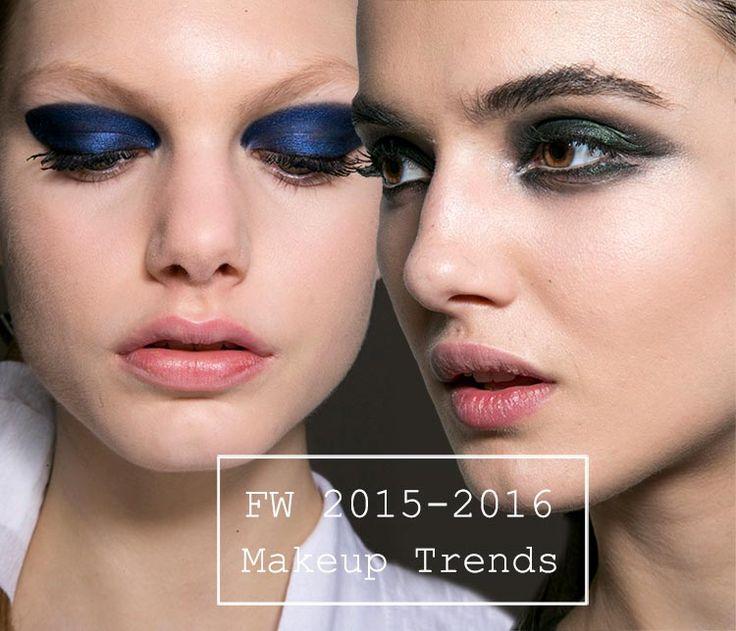 Fall/ Winter 2015-2016 Makeup Trends  #makeup #trends #beauty