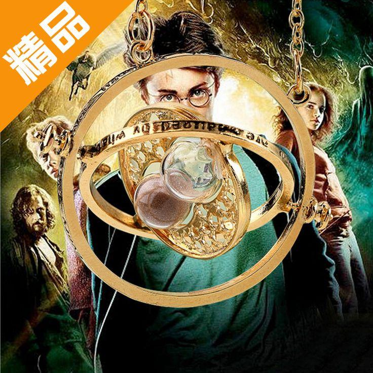 Harry Potter Harry Porter Europa heißer Halskette sanduhr Halskette Halskette Freies Verschiffen und konverter