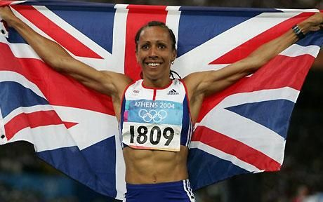Dame Kelly Holmes set the gold standard in 2004 Olympic Games