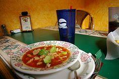 El Torito's Tortilla Soup from CopyKat.com