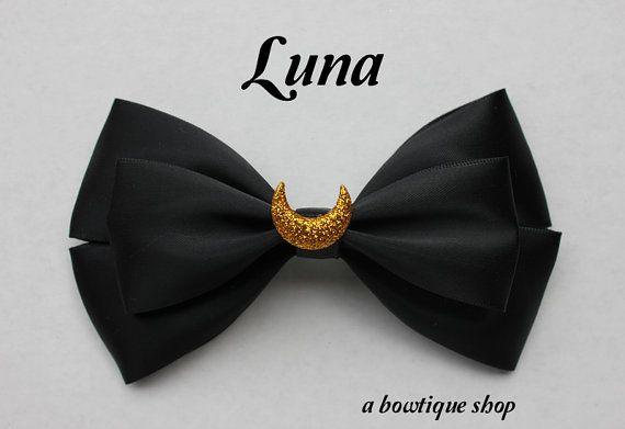 luna hair bow by abowtiqueshop on Etsy, $6.50