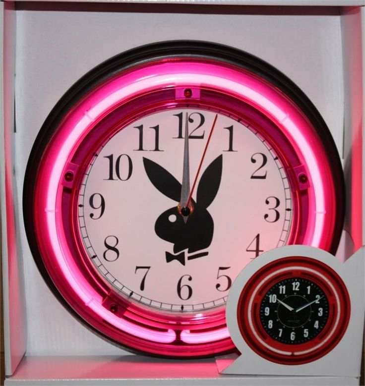 Playboy Bunny 11  Pink Neon Wall Clock. The 25  best Playboy ideas on Pinterest   Playboy bunny  Playboy