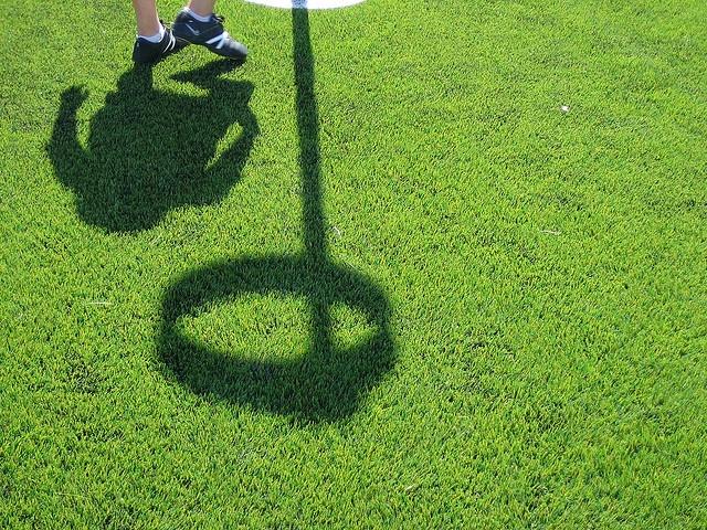 Korfbal shadow