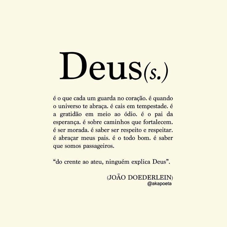 Deus - João Doederlein