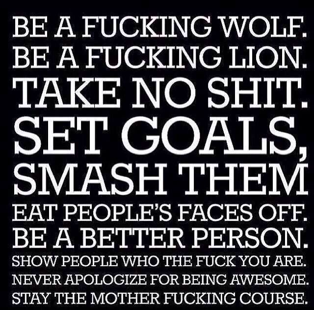 Will b my family motto