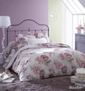 linge de lit boudoir vous r vez d 39 une chambre romantique. Black Bedroom Furniture Sets. Home Design Ideas