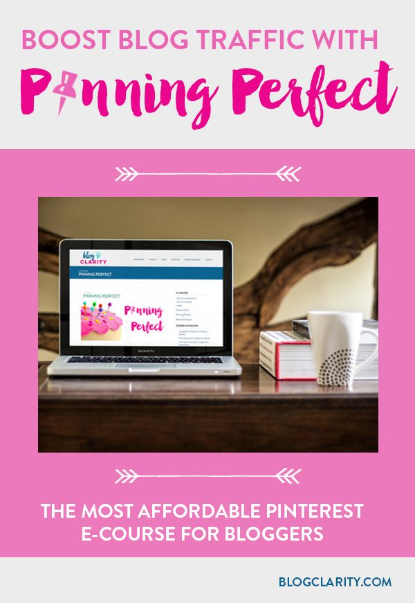 Win one of two FREE spots in Pinning Perfect, an affordable e-course dedicated to Pinterest. Learn how to get seen in the Pinterest feed and search.