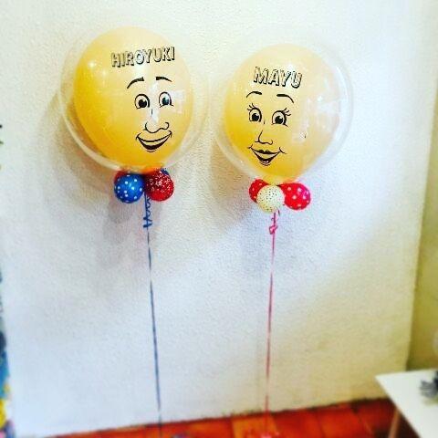 〜2016.04.07〜 ・ 念願のウェルカムバルーン(●⁰౪⁰●) イメージ写真を送って下さりました!! やっっっばい可愛い。既に100点。笑 当日は頭にリボンとハットが乗るんです♪ ・ 当日朝イチはみんなのお出迎えしてもらって 披露宴と二次会では高砂に居てもらお! うんうん…想像するだけでニヤけるぅ〜♡ ・ @junsballoonsさま ありがとうございました٩( ᐛ )( ᐖ )۶ 当日この子達に会えるのを楽しみにしてます! ・ #プレ花嫁 #ウェルカムバルーン #ウェルカムドール #このミスバルーンの鼻が彼にソックリ #ミセスバルーンは色っぽくて私に似てへん #笑 #結婚式まで残り2日 #買い出し行きたいが雨風が強い #出たくないけど時間もない #けど行くしかない #風強いから私飛ばされるかも #てゆう奴おるおる #あるあるじゃなくておるおる #ジュニアアンバサダー #第4期ジュニアアンバサダー #2016春婚 #20160409
