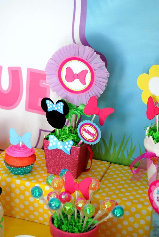 Minnie Mouse Birthday Party Ideas | Photo 1 of 74 | Catch My Party