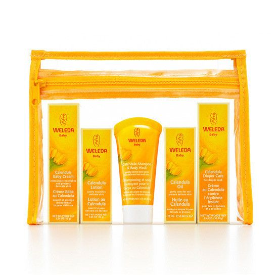 Weleda Baby Products. We love the Diaper Care Cream, the Baby Cream and the Shampoo & Body Wash.