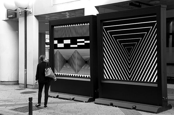 Graphic Design: French studio Murmure's amazing geometric festival identity