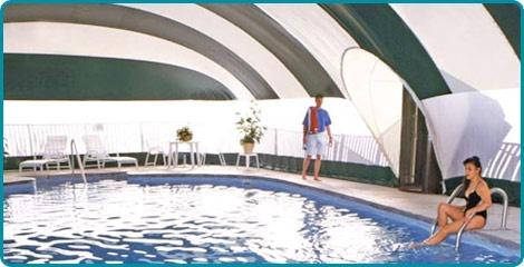 superspan domes a non permanent structure that allows year round swimming either zippered or revolving doors httpwwwkafkocommainphpmod