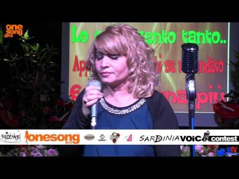 Sardinia Voice Contest - One Song 2015 Esibizione di Gianna Melis