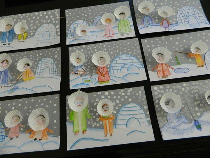 práce a fotka paní Blanka Weisgärberová Lakomá ve fb skupině Náměty a inspirace pro paní učitelky a pány učitele ;-)