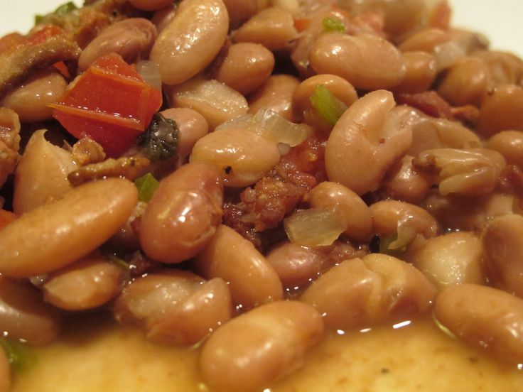 This is a recipe that is typical of northern Mexico. Though it is similar to the more traditional Frijoles de la Olla, this adds a lot more flavor to the pot. It is great in a big bowl with some co…
