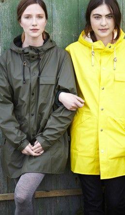 Gorregan raincoat - Yellow - Plümo Ltd