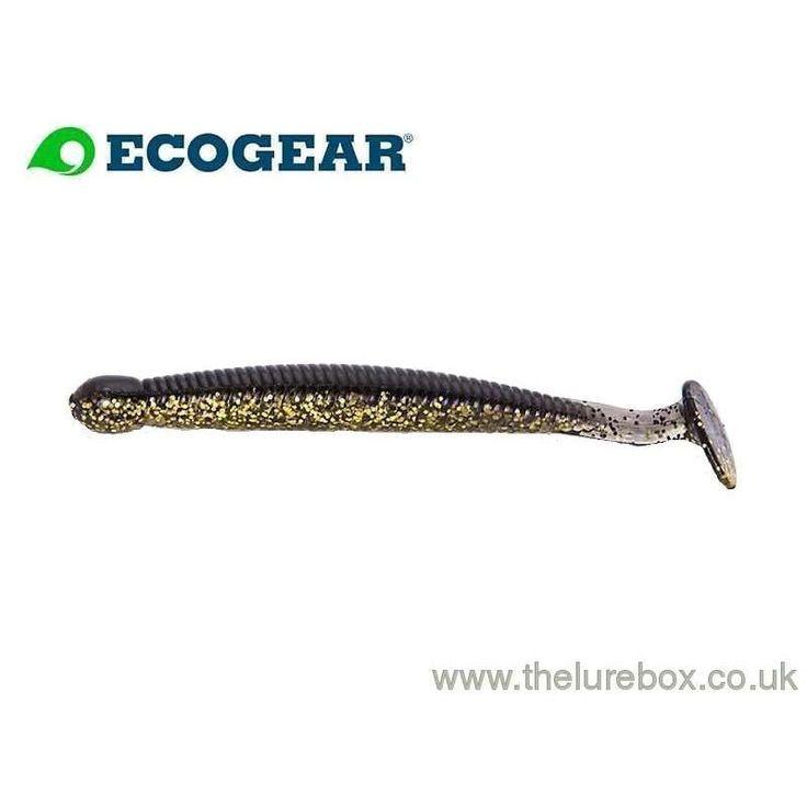 """Ecogear Grass Minnow M 2.5"""" Natural Gold"""