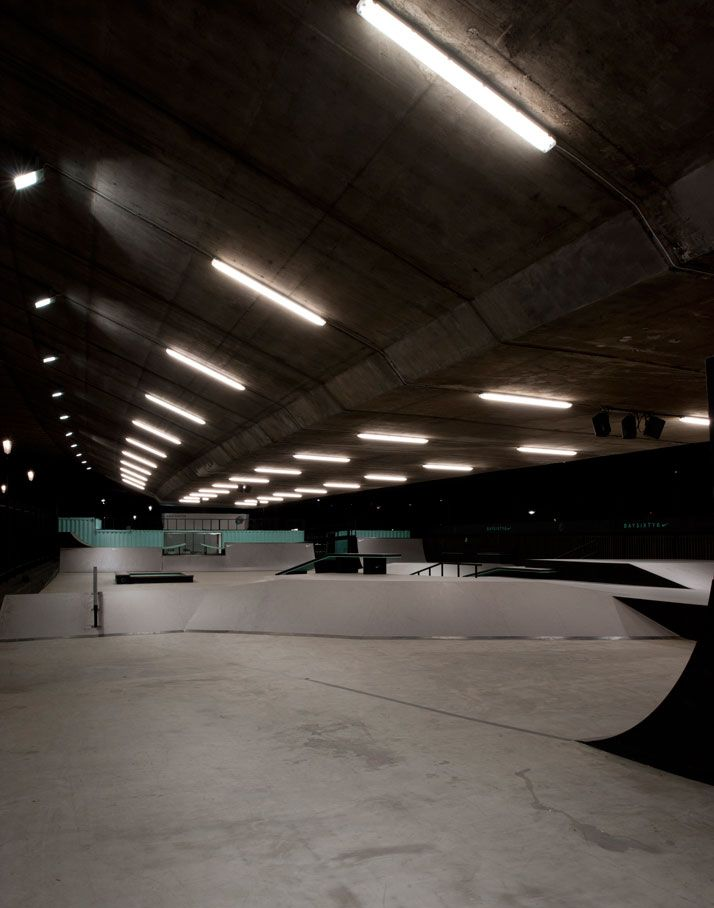 Brinkworth Revamps The BaySixty6 Skate Park  published in: Design, Interiors By Kerry Flint, 30 October 2012