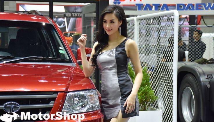 Pretty สีสันงาน Big Motor Sale 2016