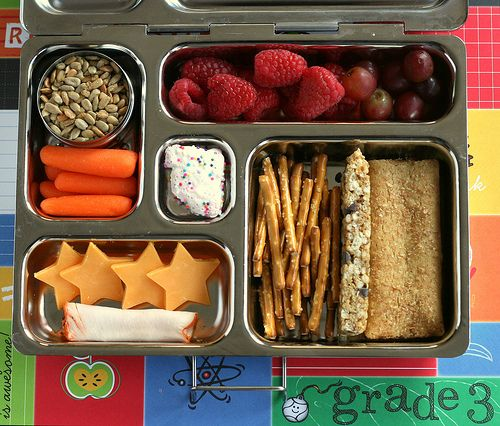 Simple Alternatives to Sandwich Lunches. Some good ideas here.