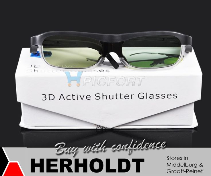 Do you have a 3D TV, but still in need of the 3D glasses? At #Herholdt we have a variety of 3D glasses to choose from. #3D #lifestyle #technology