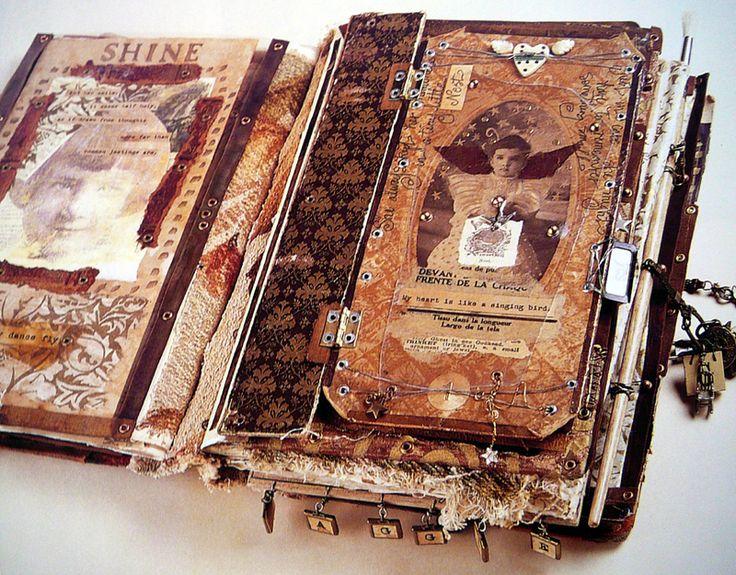 .: Minis Book, Book Art, Baby Book Two, Art Journals, Art Book, Artists Book, Altered Art, Artbook Travelbook, Altered Book