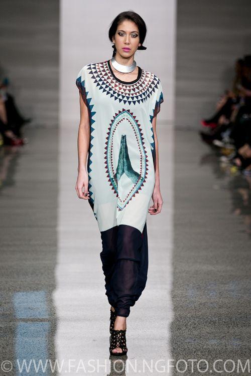 Miromoda Showcase - Adrienne Whitewood, New Zealand Fashion Week 2013, shot by Michael Ng Photography