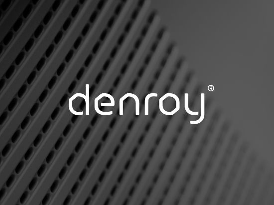 New brand and logo we designed for Denroy Plastics