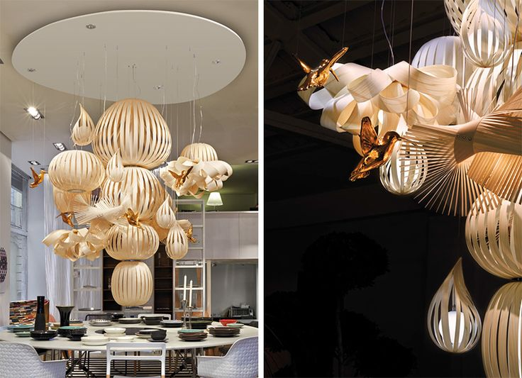 how to make a modern chandelier