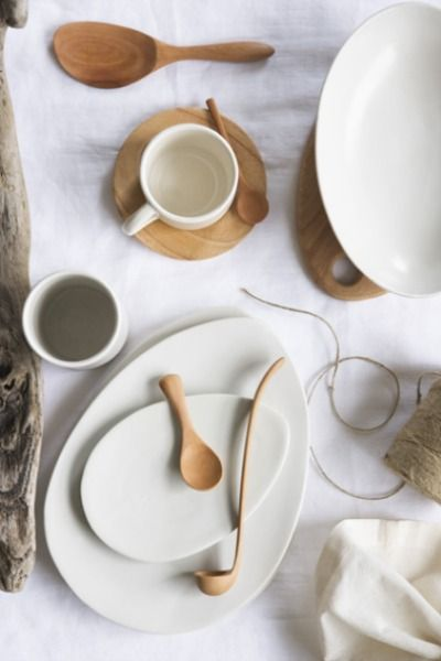 Attia Homewares. Feel like i would eat differently if i was sitting down at this table. Soothing, mellow, relaxed vibe.