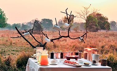 Luwi Bush Camp itinerary put together for you by better late luxury.  #travel #honeymoon #holiday  www.kingdom-london.com