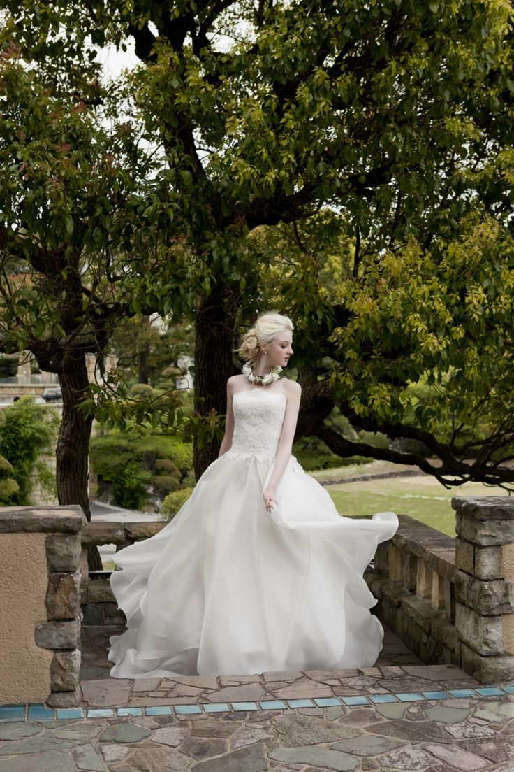 BTNV158  #NOVARESE #weddingdress #lace #Aline #organdie