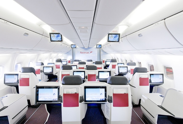 New Business Class on Boeing 767 : Austrian Airlines
