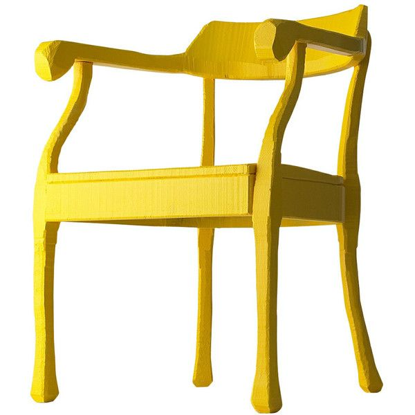 Muuto Raw Lounge Chair   Yellow   1 305    liked on Polyvore featuring home. Best 25  Yellow accent chairs ideas on Pinterest   Living room